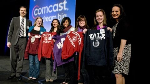 Comcast Honors Leaders and Achievers Scholars at Alliance for Education Breakfast