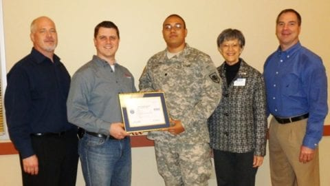 Department of Defense Honors Comcast for Support of Employees Who Serve in the Washington National Guard and Reserve