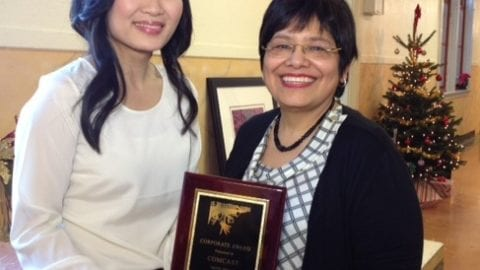 El Centro de la Raza in Seattle Presents Comcast with Corporate Partner of the Year Award