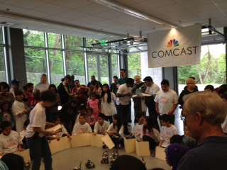 Comcast Sponsorship Turns White Center into Tech Center