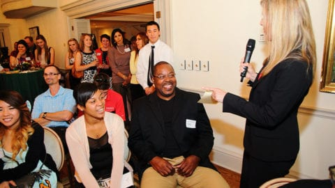 Comcast Honors 2014 Leaders and Achievers Scholarship Recipients during Reception at the Capitol Campus in Olympia
