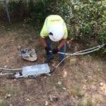 tech repairing equipment