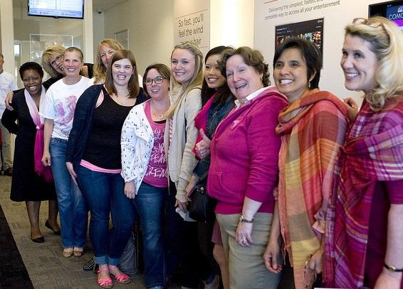 supporters of Susan G. Komen Puget Sound