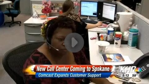Comcast Announces 675 jobs Planned for a New Call Center in Spokane Area