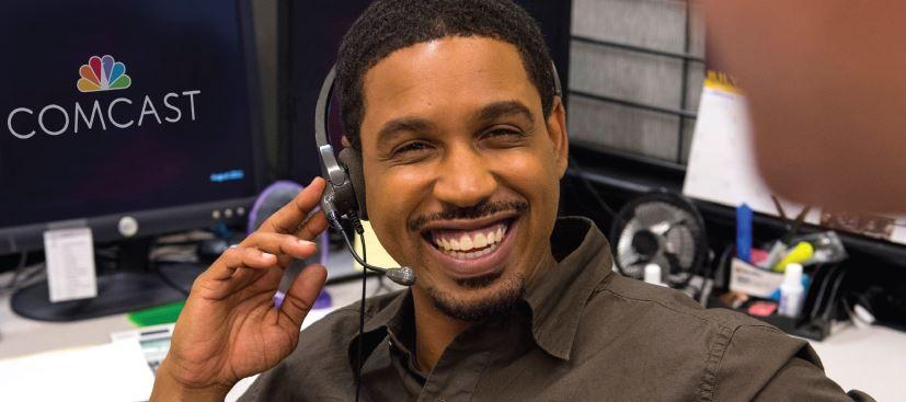 Comcast call center employee