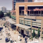 view of whole foods from the new store