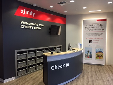inside photo of Xfinity Store