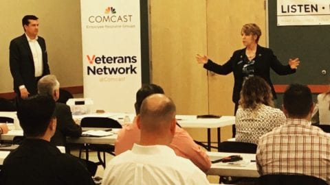 Military Roadshow Offers Advice on How to Hire Members of the Military Community