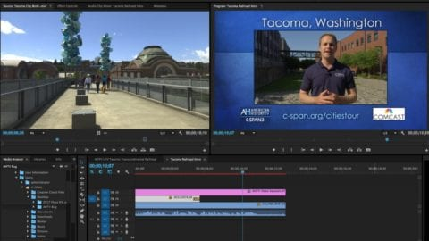 It's Tacoma weekend on video throughout the United States, thanks to C-SPAN