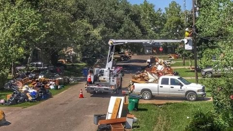 Washington Comcasters – and now, their trucks – continue to head to Houston