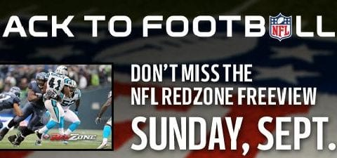 Screenshot from the NFL RedZone website