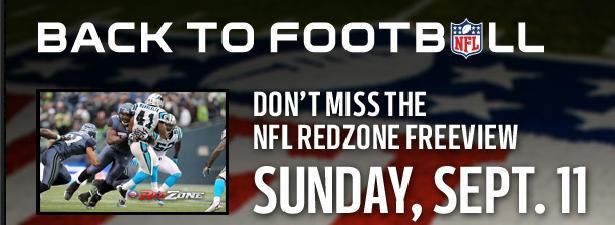 Screenshot from the NFL RedZone website