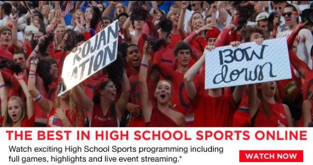 Xfinity TV and PlayOn! Sports Deliver Local High School Sports to