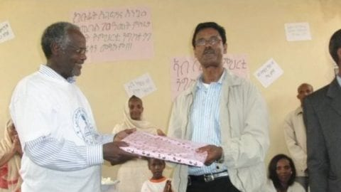 Comcast Tech receives award in Ethiopia