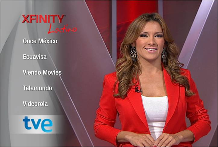 "Azucena Cierco, host of Telemundo's morning show ""Un Nuevo Dia,"" shares information about Comcast's expanded Xfinity Latino programming choices"