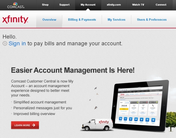 Comcast Offers Self-Help, Self-Service Tools for Your Xfinity