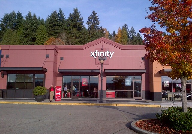 exterior of the Redmond xfinity store
