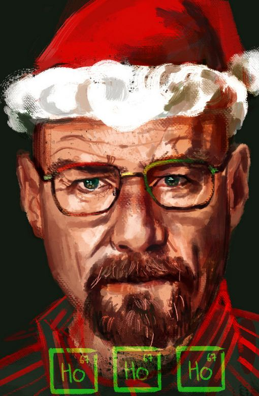 Photo Credit to: http://symphonikaa.deviantart.com/art/Breaking-Bad-Christmas-417257657