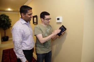 Mathew and Pirillo look at thermostat control