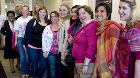 supporters of Susan G. Komen Puget Sound