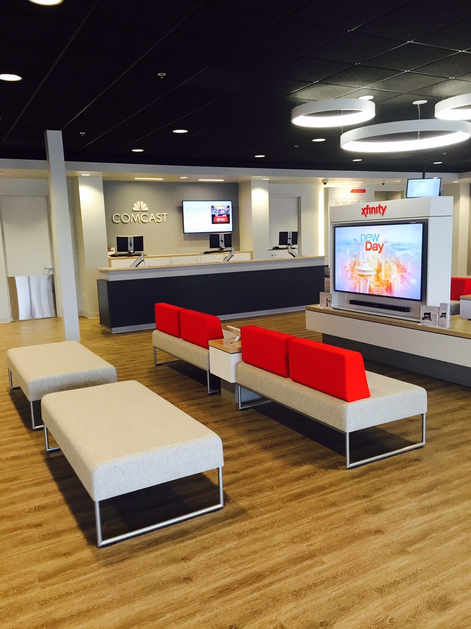 interior of the new Bellingham XFINITY Store