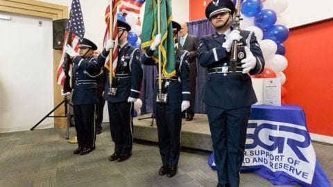 Comcast Celebrates Our Military Community Employees in Spokane