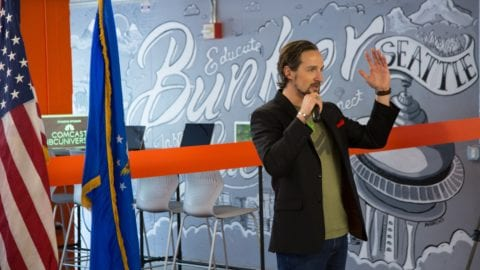 Comcast provides support to Bunker Labs to help veteran entrepreneurs in and around Seattle
