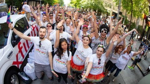 Comcast Washington Shows its PRIDE in Seattle