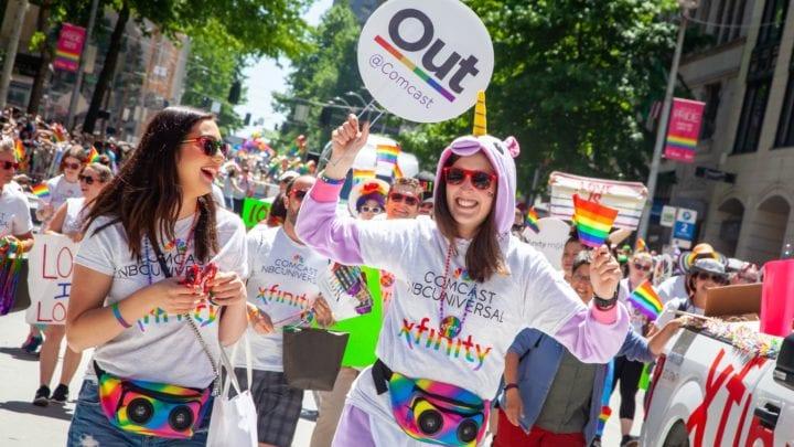 Washington #PRIDE: Comcast Supports Seattle Pride Parade & Tacoma Pride Fest