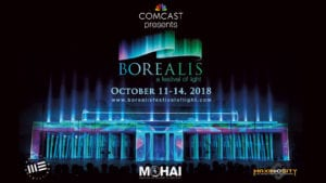 Comcast Brings 3-D Light and Music Festival to Seattle in October