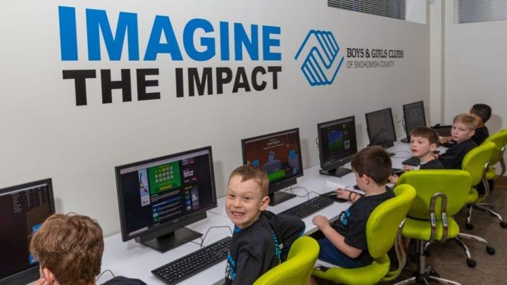 Comcast Washington Tech Lab Mukilteo Boys and Girls Club Opening 2019